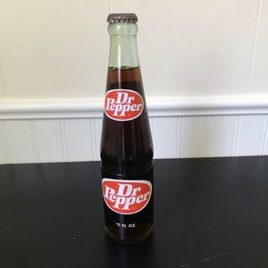 Dr. Pepper Vintage Bottle